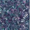 Tiny Flats 5X3.5mm Two-Tone Lilac/Mint
